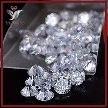 YanRuo wholesale #1357 1000pcs 1mm Crystal AAA+ Cubic Zircon Round Zirconia DIY Nail Accessory BRILLIANT CUT ROUND CHATON