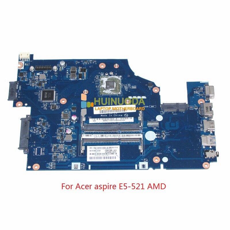 NOKOTION Z5WAE LA-B232P NBMLF11001 NB.MLF11.001 For Acer aspire E5-521 laptop motherboard la b981p rev 1 0 for acer aspire e5 511 e5 511g laptop motherboard geforce 820m ddr3l