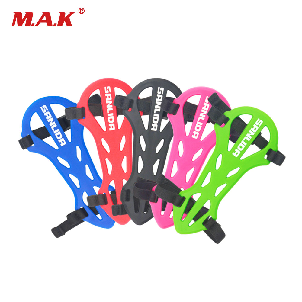 Archery Safety Protection Soft Rubber Arm Guard Forearm Flexible Arm Guards Hunting Accessories For Archery Shooting
