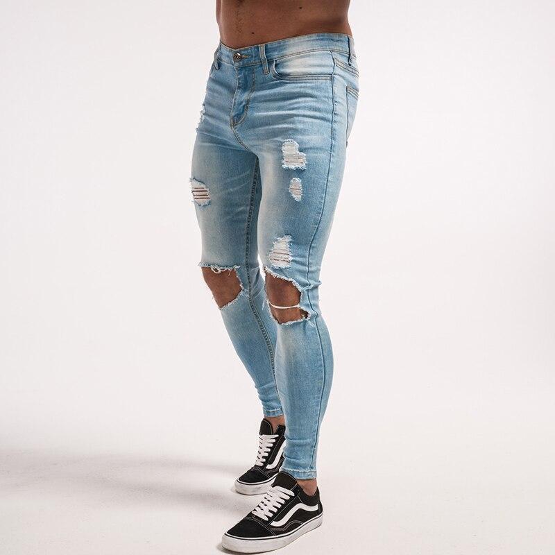 gingtto-mens-skinny-jeans-light-blue-elastic-denim-ripped-repaired-zm15-5