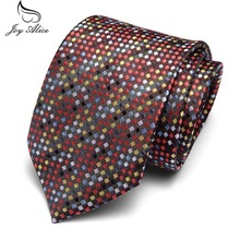 Fashion Plaid Tie Mens Colorful Polka Dot Ties 7.5cm Necktie Black Neck For Formal Business Groom Wedding Party Accessory