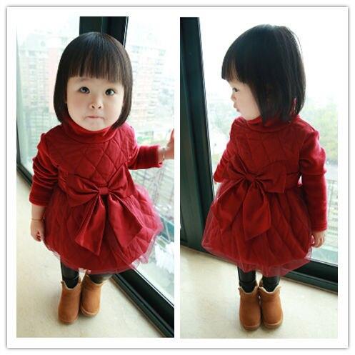 Vestido bebe fiesta invierno