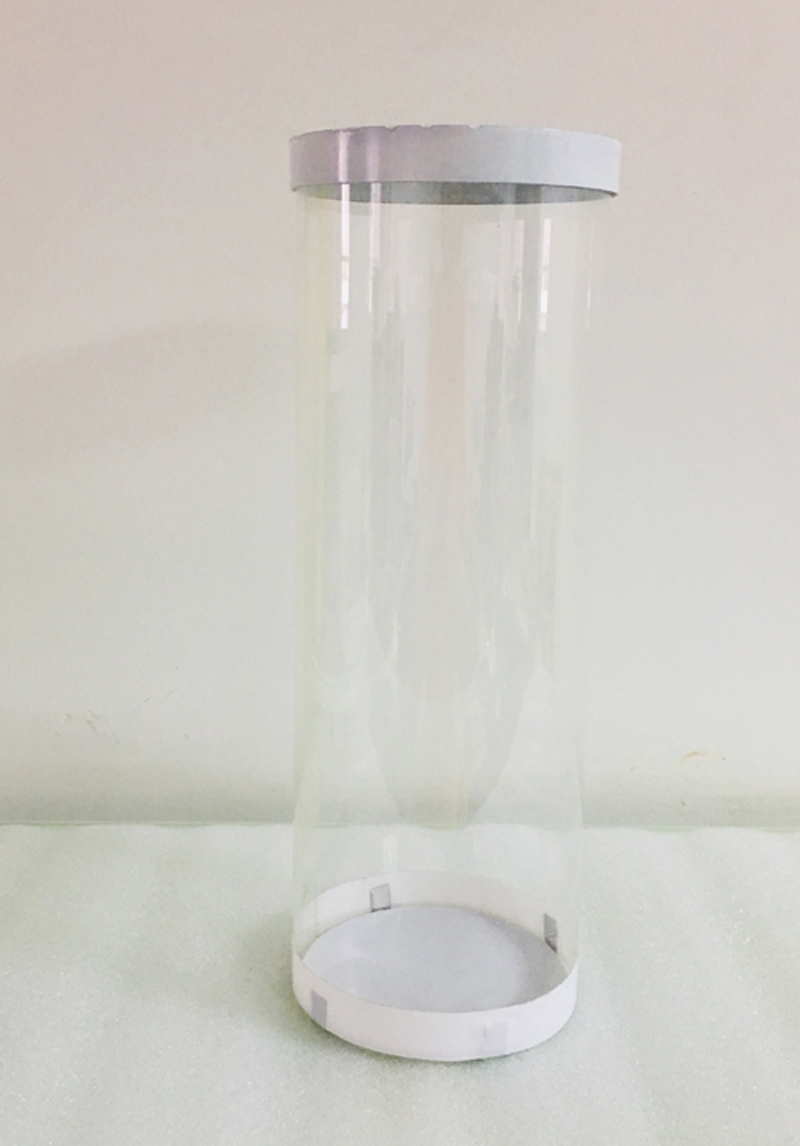 Magic Tricks Transparent Tube Gimmick For Master Prediction System/ Accessary