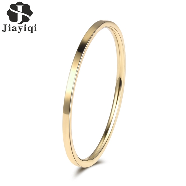 Jiayiqi 2018 New Design Small Cute Silver Gold Color Wedding Couple