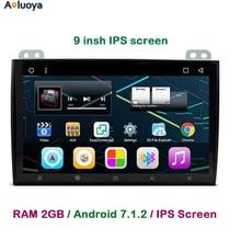 "Aoluoya 9"" IPS 2G RAM 32G ROM Android CAR DVD GPS Player For Toyota Land Cruiser 120 Prado 120 2002-2009 2010 Radio bluetooth 3G"