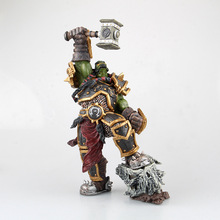 WOW Dota 2 Thrall Go'el Doomhammer Frostwolf Clan Ainme Action Figure Toys Game 26cm 1Pcs PVC Collection Model Brinquedo S123