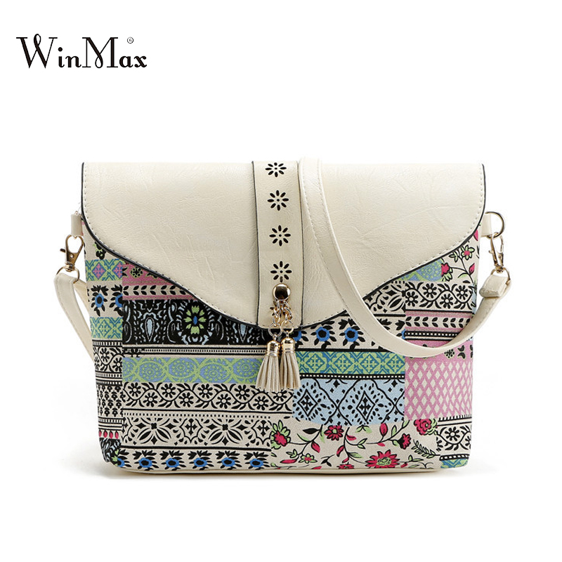 Winmax Summer Shoulder Flap Bag tassel Women small Beach Phone Bag - ჩანთები - ფოტო 1