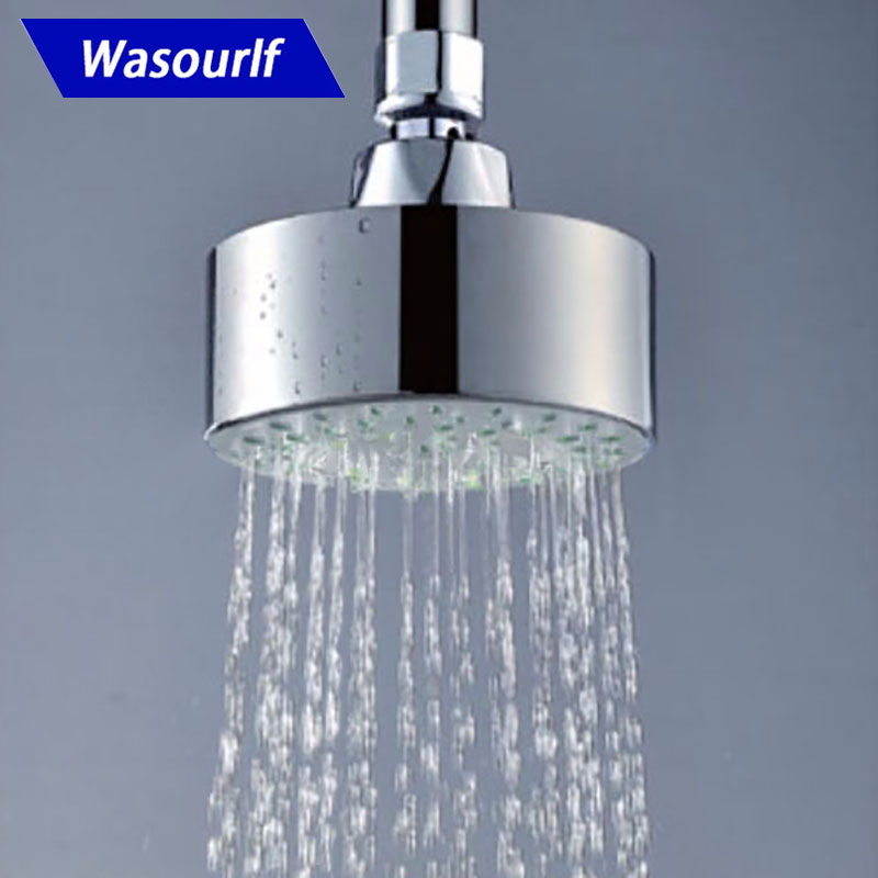 WASOURLF Air Intake Boost Water Saving Shower Head Boosting Pressure Save Water Shower High Quality Brand SPA Hotel Wholesale