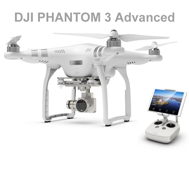 DHL Free DJI Latest UAV Remote Control Helicopter DJI PHANTOM 3 Advanced Quadcopter FPV RC Helicopter Drone with 1080P Camera