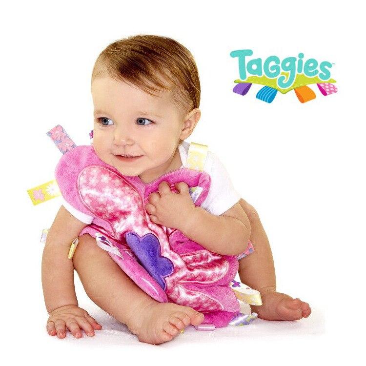 Кэндис Го! Новое поступление taggies красивый цветок успокоить полотенце мягкие детские плюшевые игрушки подарок на день рождения 1 шт.