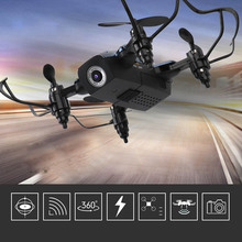 Mini Drone with HD Camera 720P Wifi Transmission Quadcopter Foldable One Key Return Drone YJS Dropship