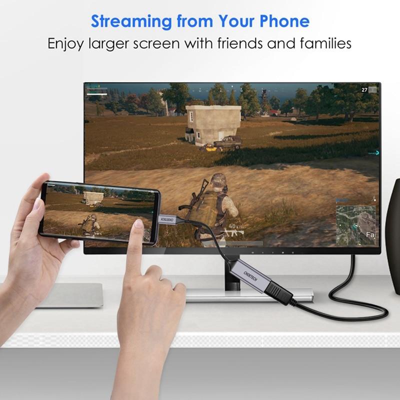 Choetech Usb C к Hdmi 4 k@ 60 Гц концентратор Usb Type C к Hdmi адаптер кабель концентратор Usb Type C к Hdmi адаптер 1080P Pro