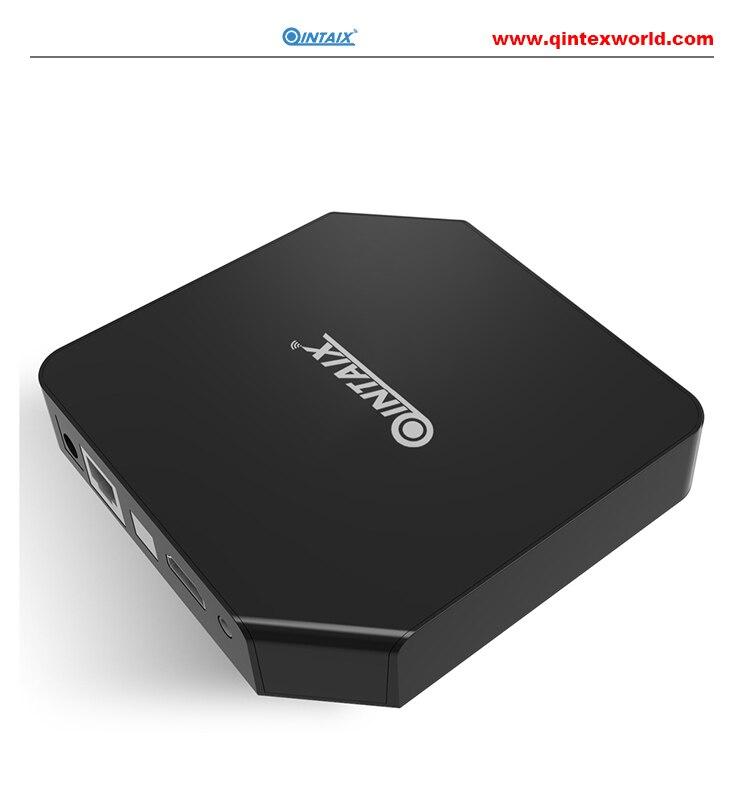 QINTAIX Android Tv Box Amlogic S912 Octa Core Android 6.0 TV Box Q9A 3GB RAM 32GB ROM google play set top box amlogic s912 octa core android 6 0 tv box 2g 16g 2 4g 5ghz wifi gigabit lan google play set top box