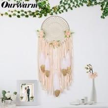 OurWarm Hanging DIY Dream Catchers Handmade Boho Wedding Decoration Nursery Decor Baby Shower Gift