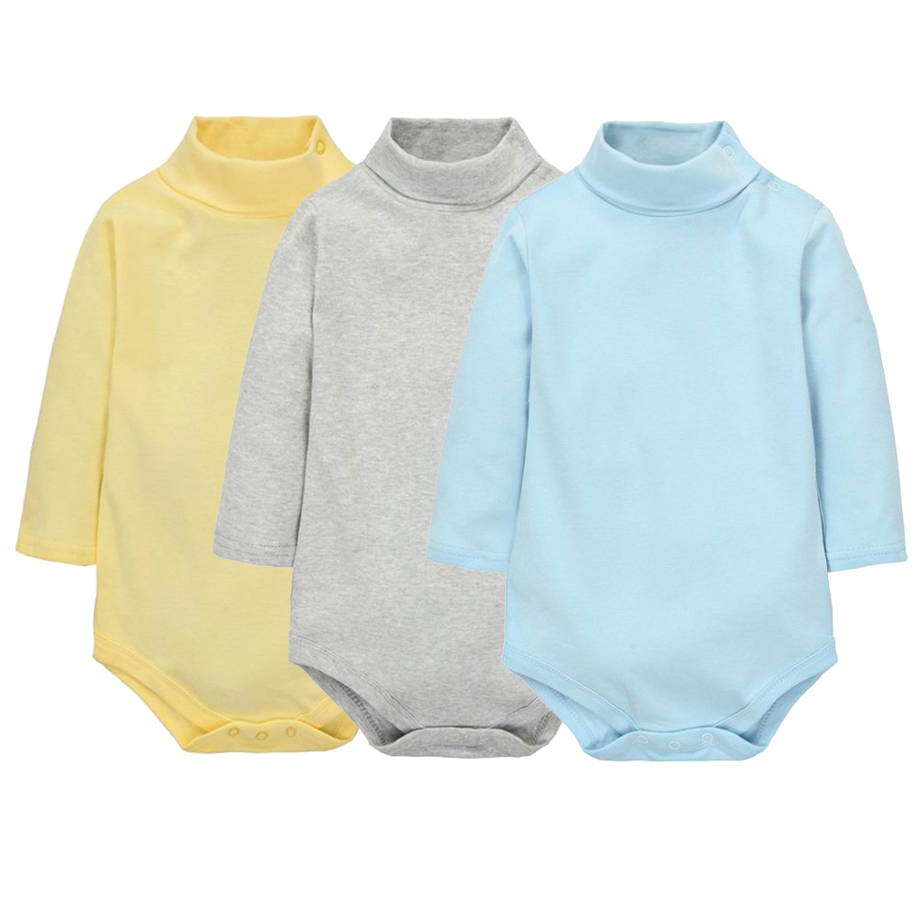 4 Color Baby Clothes 2017 Newborn baby boys girls clothes Jumpsuit Long Sleeve Infant Product solid turn-down collar Rompers 2017 lovely newborn baby rompers infant bebes boys girls short sleeve printed baby clothes hooded jumpsuit costume outfit 0 18m