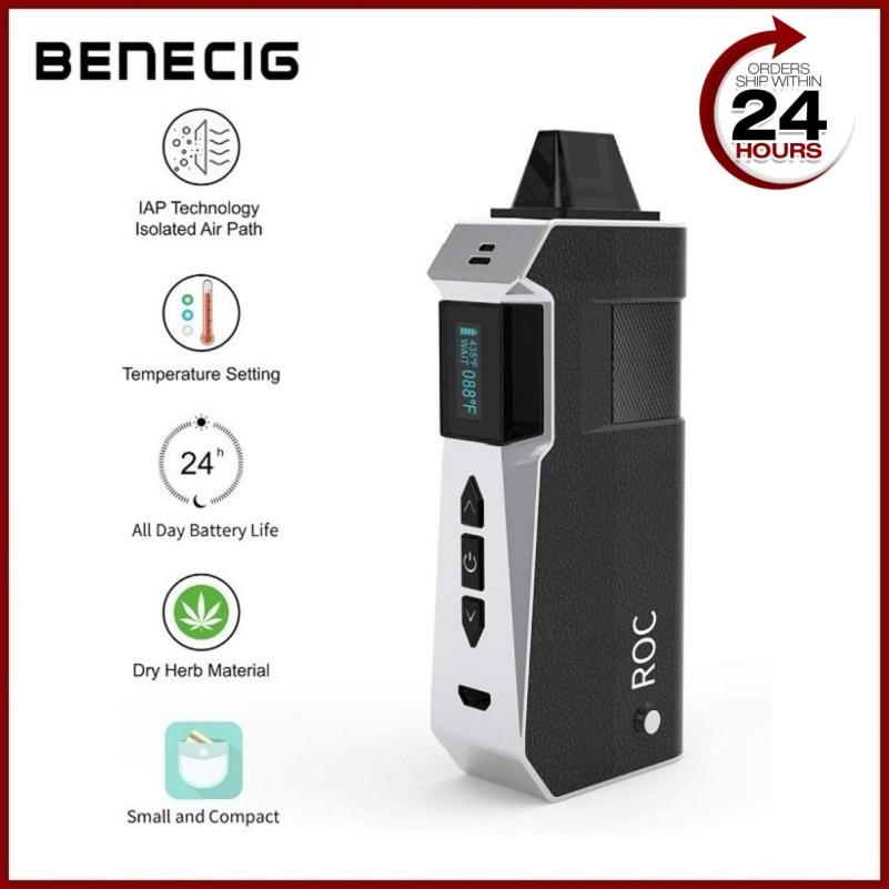Benecig Premium Vaper Electronic Cigarette Vaporizer Dry Herb Vape Pen 2200mAh Battery E Cigarette Herbal Vaporizer