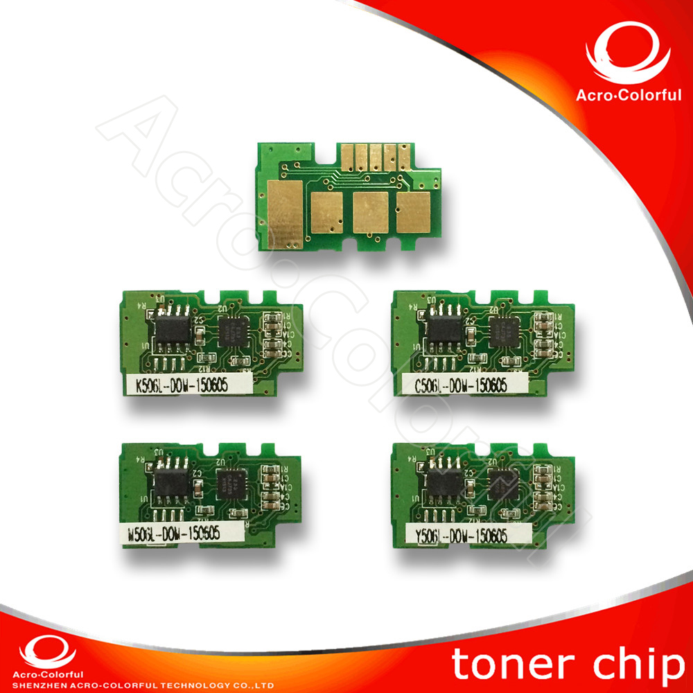 T506 Reset Chip Laser Printer cartridge chip for Samsung CLP-680/680DW/680DN/CLX-6260FR/6260FD/6260FW//6260ND/6260NR Toner chip hot sale 4pcs for samsung 506 clt506 cyan toner cartridge powder for clp 680 680dw 680dn clx 6260fr laser printer free shipping