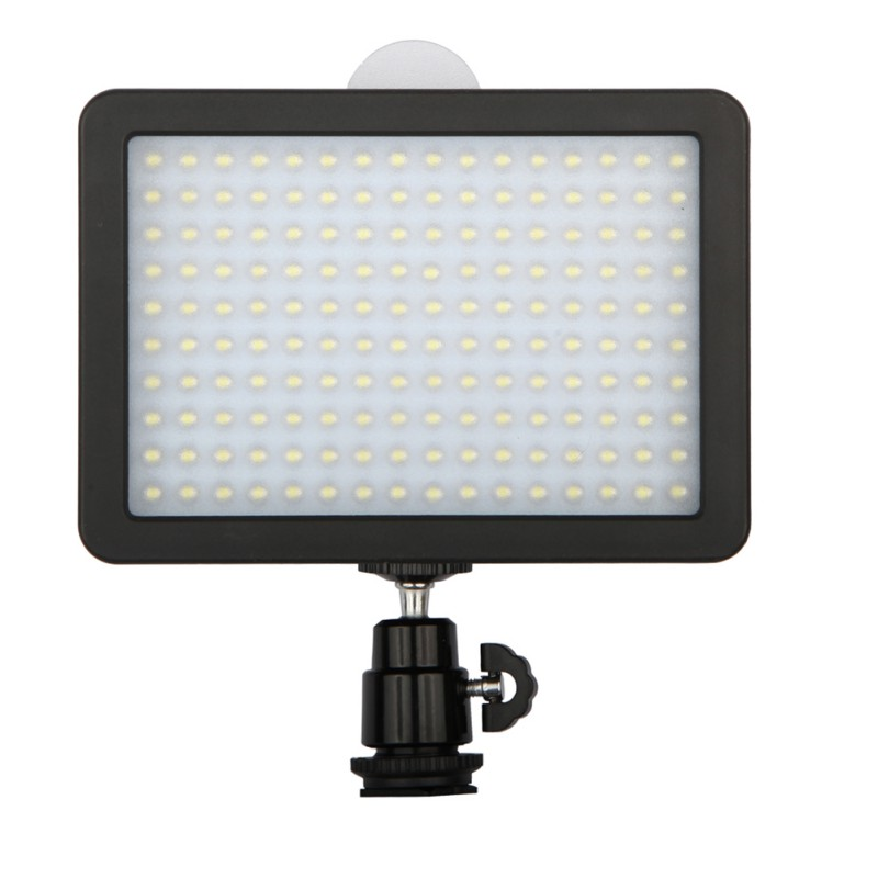 Newest Video LED Night Light Lamp Photographic Lighting 5600K 165 Lamp Beads For Camera Mini DVR 7.5V 12W new