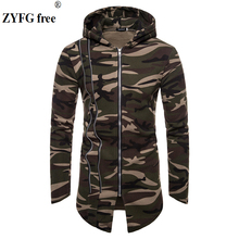 ZYFG free 2018 New Brand Sweatshirt Men Hoodies Winter camo Hoodie Mens fashion Coat Jacket Casual Tracksuits Masculino