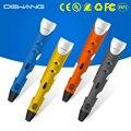 DEWANG креативная 3D Ручка 1 75 мм ABS/PLA DIY Детская игрушка с 300 м нить 3D печать Ручка для рисования
