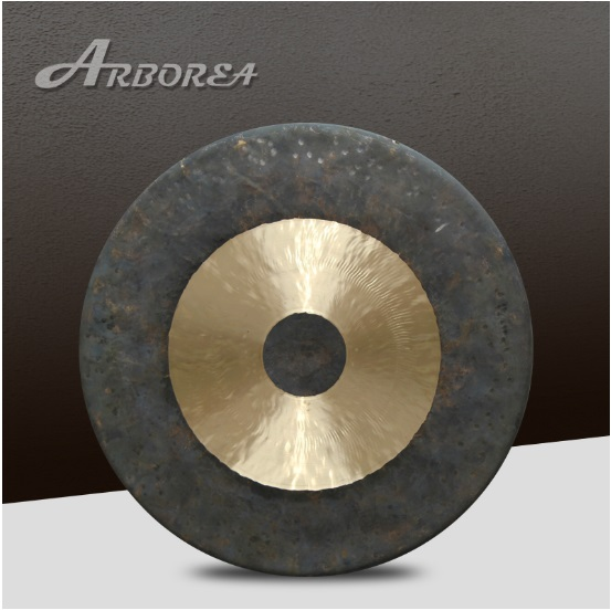 Arborea 22'' chau gong arborea 22 wind gong with free mallet chinese traditional gong
