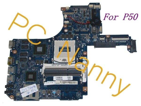 Para Toshiba Satellite P50t Laptop Motherboard Intel NVIDIA GeForce GT 740 M VGSG MB H000067900 Hm86