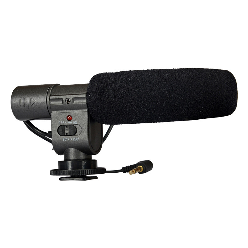 KingMa Pro DV stereo microphone mic uni-direction for Canon 500d 600d 5dII 1dIII 50D 60D Nikon D90 D3000 D7000 DSLR DV DC Camera surelam pro 500d
