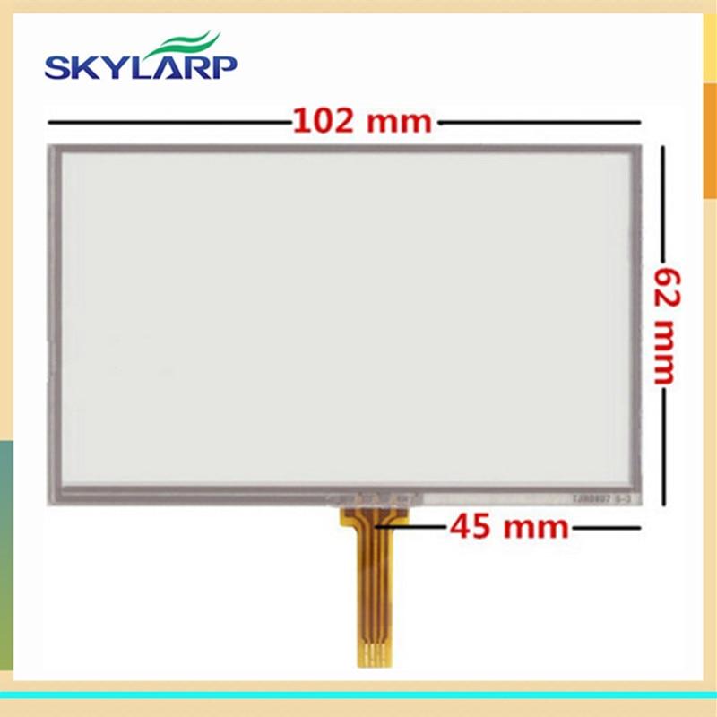skylarpu 10pcs/lot New Touch screen panels for GARMIN Nuvi 2350LT 2350LMT GPS Touchscreen digitizer panel replacement кронштейн держатель для garmin nuvi 2497lmt 2557lmt 42lm 52 54lm new