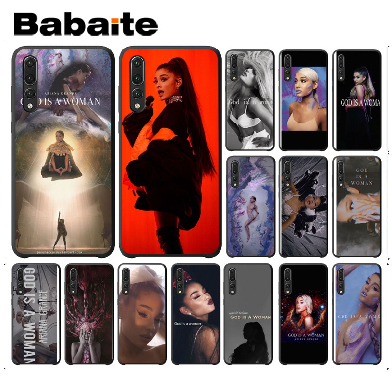 Methodical Babaite Ariana Grande God Is A Woman Luxury Phone Cover Case For Huawei P20 Pro P20lite P9lite Nova 3i Honor 8x Mate20 Pro Cases Can Be Repeatedly Remolded. Cellphones & Telecommunications