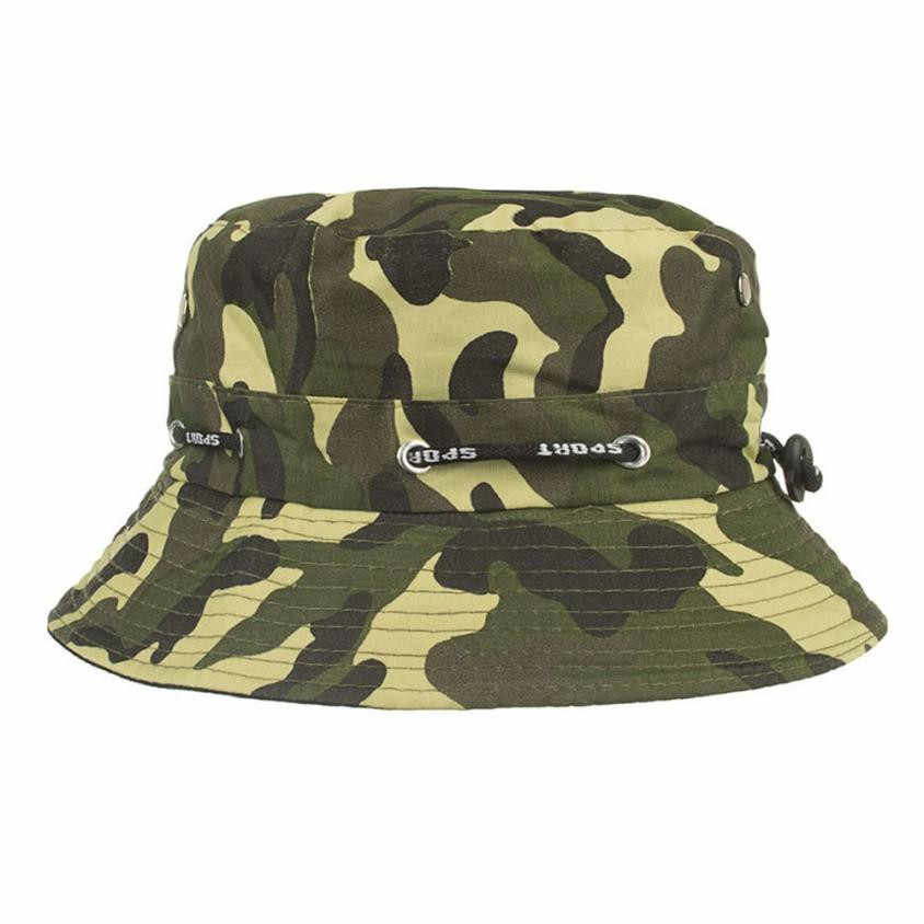 1945da4e6a0 Detail Feedback Questions about Camouflage Mens Fisherman Bucket Hat ...