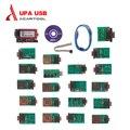 Новый УПА USB Программатор с Полным Адаптеры v1.3 версия упа usb serial программист с полным адаптеров упа usb программист по dhl