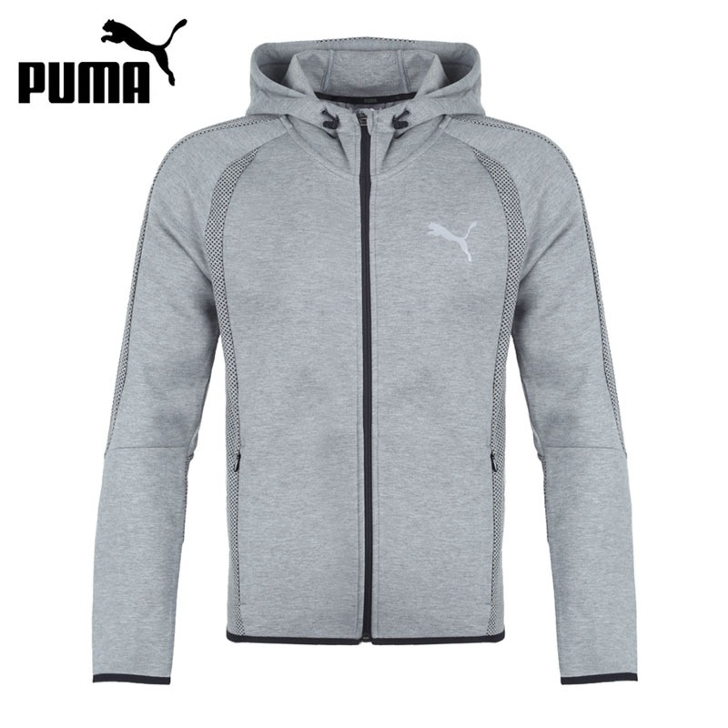 Original New Arrival PUMA Evostripe Ultimate FZ Hoo Men's jacket Hooded Sportswear
