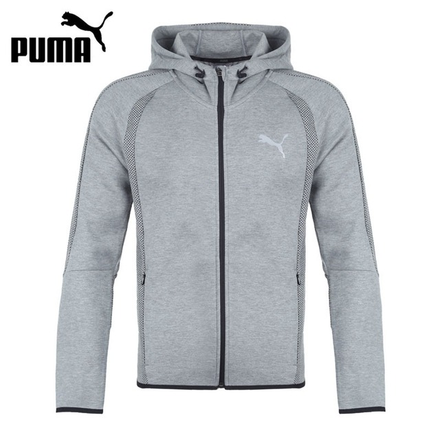 78a9fd889411 Original New Arrival PUMA Evostripe Ultimate FZ Hoo Men s jacket Hooded  Sportswear-in Running Jackets from Sports   Entertainment on Aliexpress.com  ...