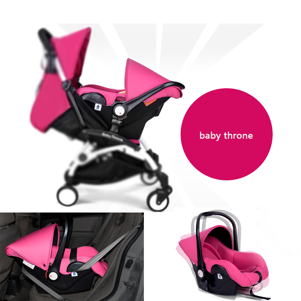 baby throne stroller sleeping basket and function of Car Safety Seats for 0-6 month baby