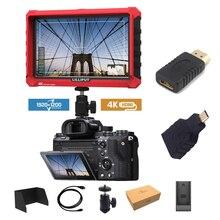 Lilliput A7S 7 дюймов очень тонкий ips Full HD 1920x1200 4K HDMI Камера видео с полевым монитором для цифровой зеркальной камеры Canon Nikon sony DSLR Камера видео