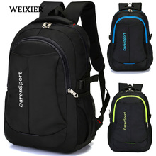 WEIXIER 2019 Hot Travel Nylon Multi-Function Bag Fashion Zipper Open Backpack Laptop High Quality Designer Male Classic