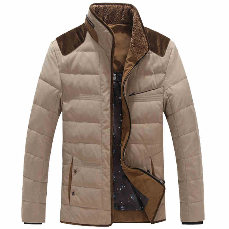Spring Autumn Style Mens Parka Jackets Plus Size 7XL Business Mens Overcoats European and American Style Mens Warm Parka C1139