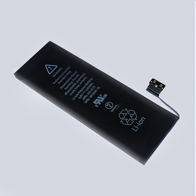 1560mAh Li-ion Battery for iPhone 5S 5C Phone Battery Rechargeable Replacement Li Polymer Internal Batteries High Quality