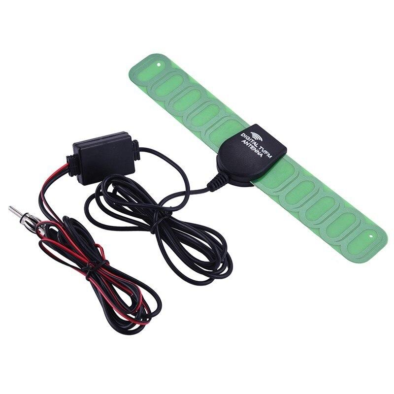 Image 2 - Auto Aerial Radio Antenna Automobile Antena TV Car Signal Reception Amplifier Car Digital Automobile TV FM Antenna-in Aerials from Automobiles & Motorcycles