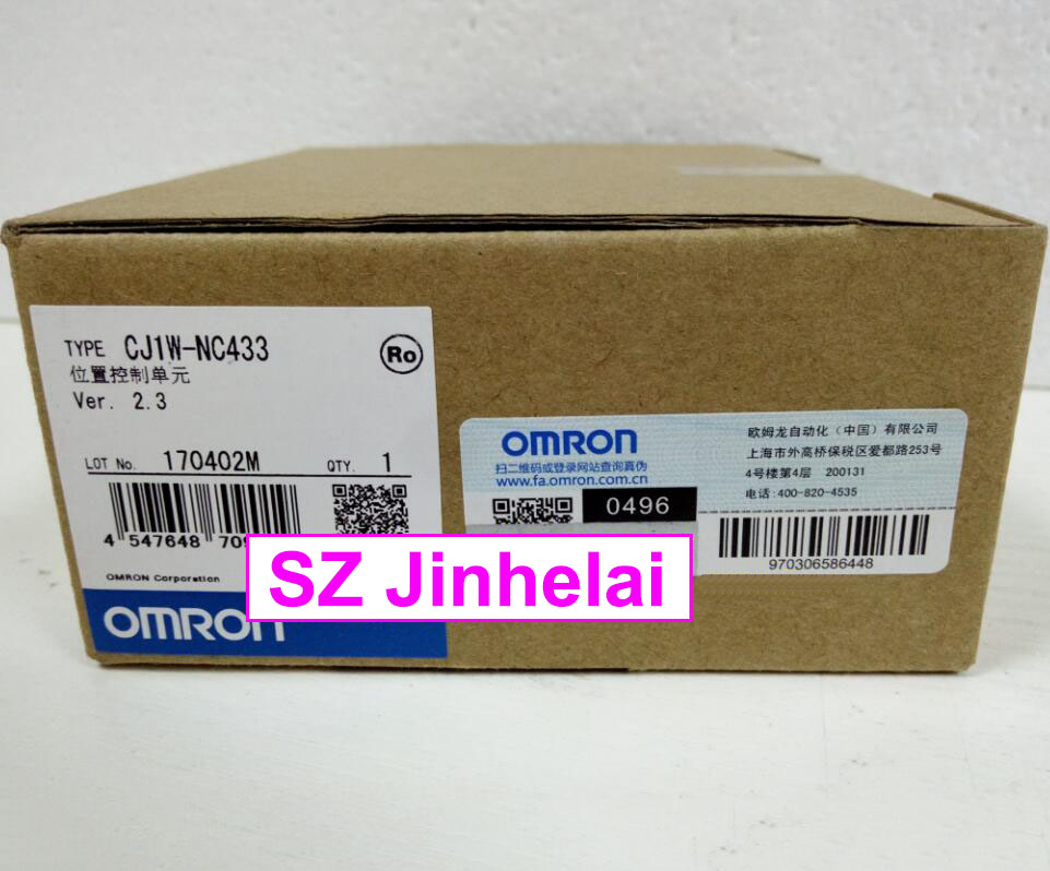 все цены на 100% New and original CJ1W-NC433 OMRON Position control unit онлайн