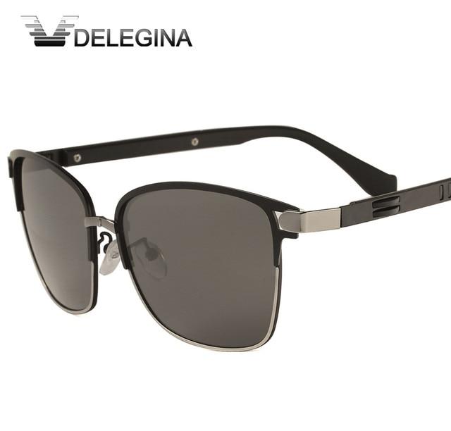 DELEGINA Clássicos Do Vintage Óculos Polarizados Óculos de Sol Das Mulheres  Dos Homens Óculos de Sol 4b9c87d1cb