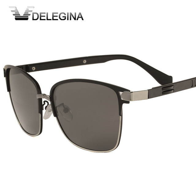 e4083f635c4 DELEGINA Vintage Classic Polarized Sunglasses Men Women Sun Glasses Luxury  Brand Designer Polar Shades Driving Goggles