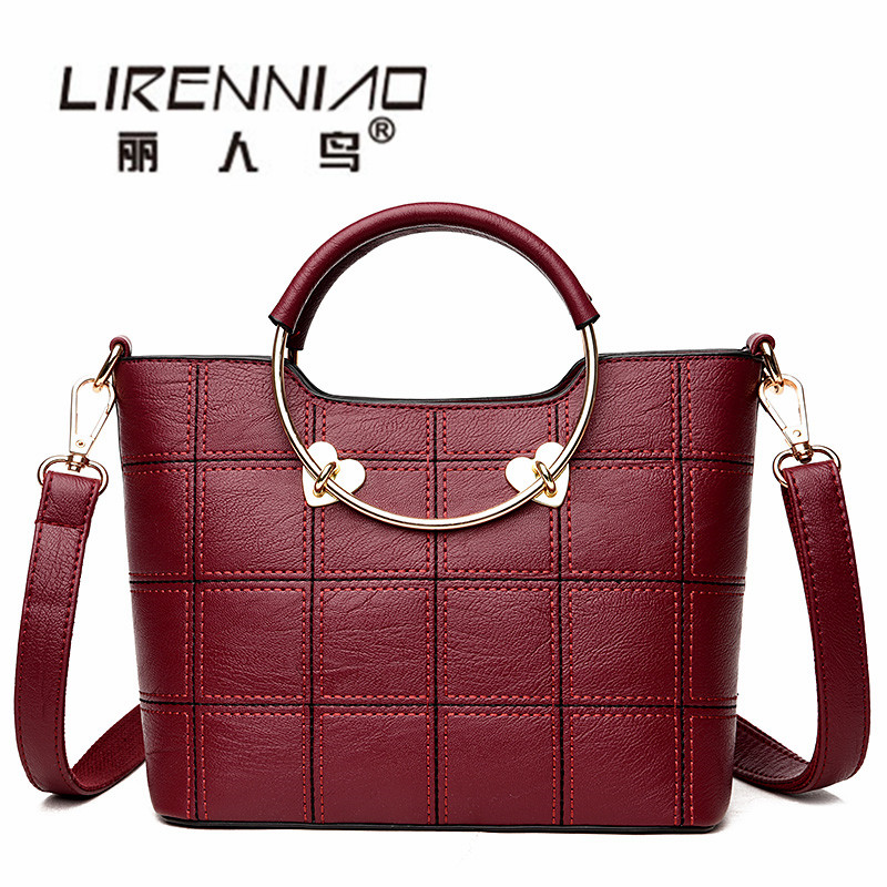 Small 2017 Luxe Beach Bag for Women Famous Brand Handbags Luxury Designer Women Tote Summer Leather Bag Travel Sac a main femme printed letters handbags new hot brand women small tote bag hand bag famous designer high quality handbags sac main femme bolsas