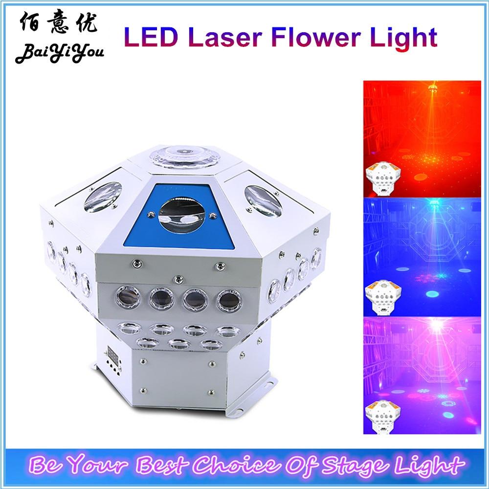 8w 48leds seven color sun pattern plastic stage lamp ac 90 240v - Unique Hot Sale 100w Led Hexagonal Laser Flower Galaxy Light Led Six Angle Beam Spot Laser