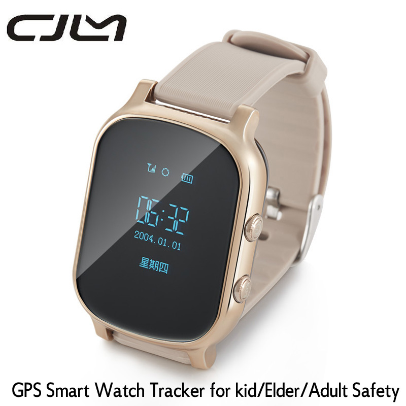 font b Smart b font font b Watch b font T58 GPS Tracker SmartWatch For
