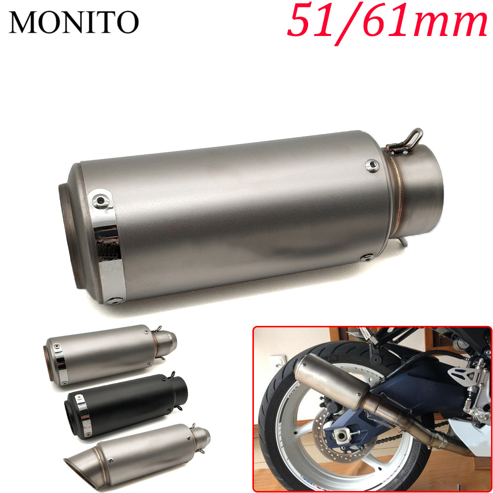 Motorcycle SC exhaust escape Modified Exhaust Muffler DB Killer For YAMAHA XMAX 125/250/300/400 Iron Max NMAX 125 R120Motorcycle SC exhaust escape Modified Exhaust Muffler DB Killer For YAMAHA XMAX 125/250/300/400 Iron Max NMAX 125 R120