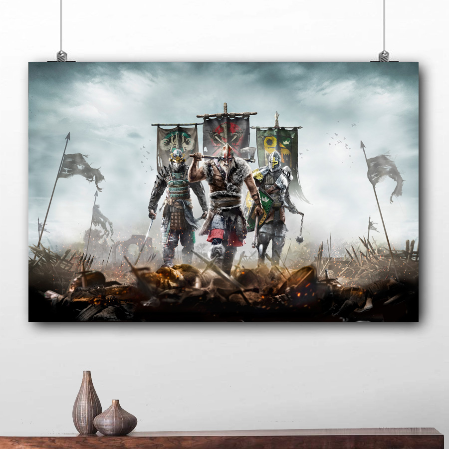GAME POSTER WATERPROOF DECORATIVE PAINTING TOTAL WAR THREE KINGDOMS 2 Size