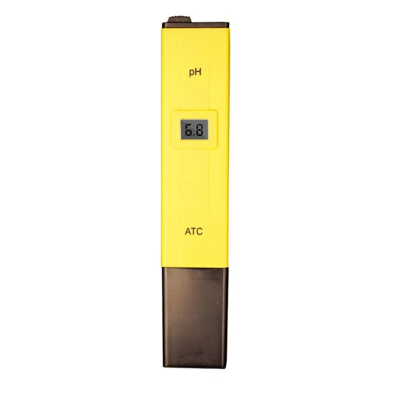 10pcs/lot Digital PH Tester Meter Pocket Pen Aquarium Pool Water Digital Pen PH Meter Tester WITH ATC 10%off цена