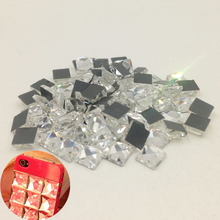 Buy crystal glass square rhinestone and get free shipping on ... 14c8884d2b94