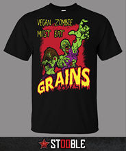Vegan Zombie T-Shirt - Direct from Stockist New T Shirts Funny Tops Tee New Unisex Funny Tops Tops Tshirt Homme Black Style ak 47 t shirt direct from stockist new t shirts funny tops tee new unisex funny tops men s funny harajuku tshirt basic models